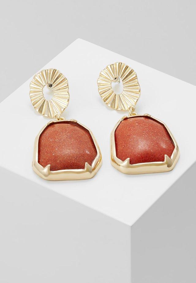 DROPS - Earrings - gold-coloured