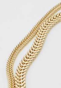 LIARS & LOVERS - SKINNY CHAIN 2 ROW NECKLACE - Ketting - gold-coloured - 2