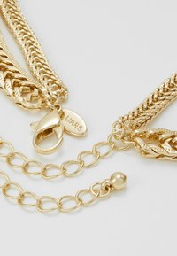 LIARS & LOVERS - SKINNY CHAIN 2 ROW NECKLACE - Ketting - gold-coloured - 3