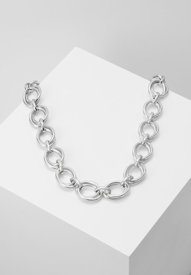 CHUNKY LINK CHAIN - Halskette - silver-coloured