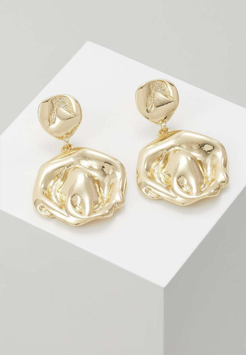 LIARS & LOVERS - MOLT SHAPE DOUBLE - Oorbellen - gold-coloured