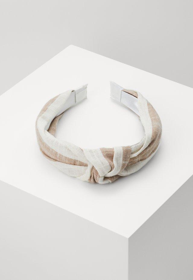STRIPE KHEA - Haar-Styling-Accessoires - brown