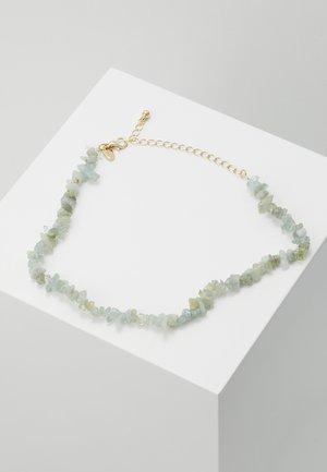 SEMI CHOKER - Necklace - blue