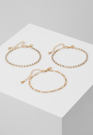 CHAIN BRACELET 3 PACK - Bracciale - gold-coloured