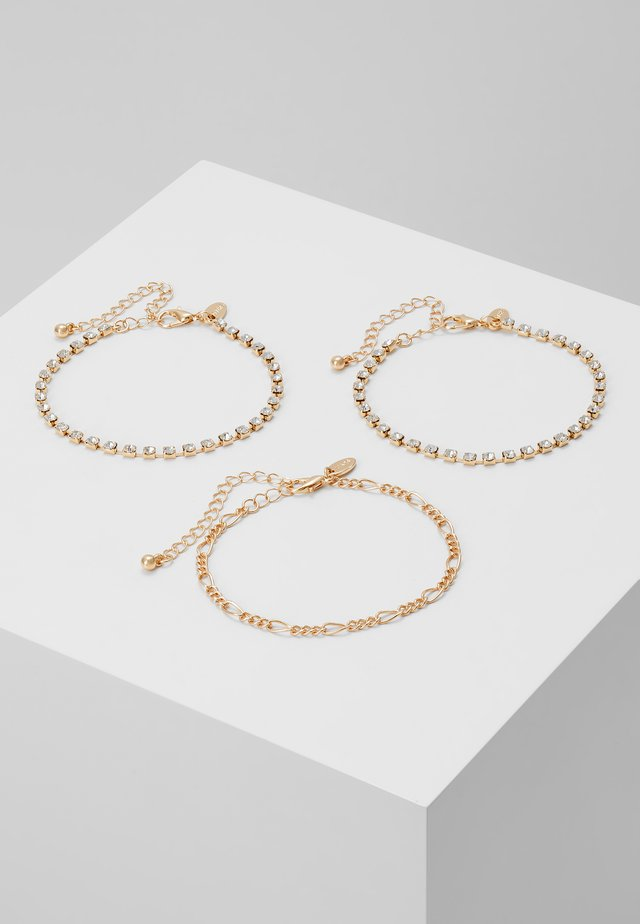 CHAIN BRACELET 3 PACK - Armband - gold-coloured