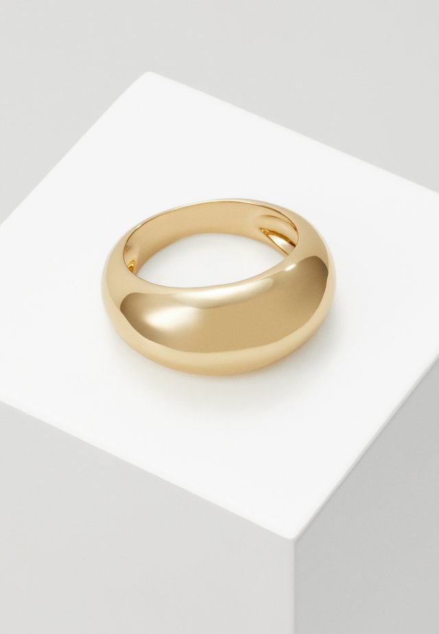DOMED RING - Ringar - gold-coloured