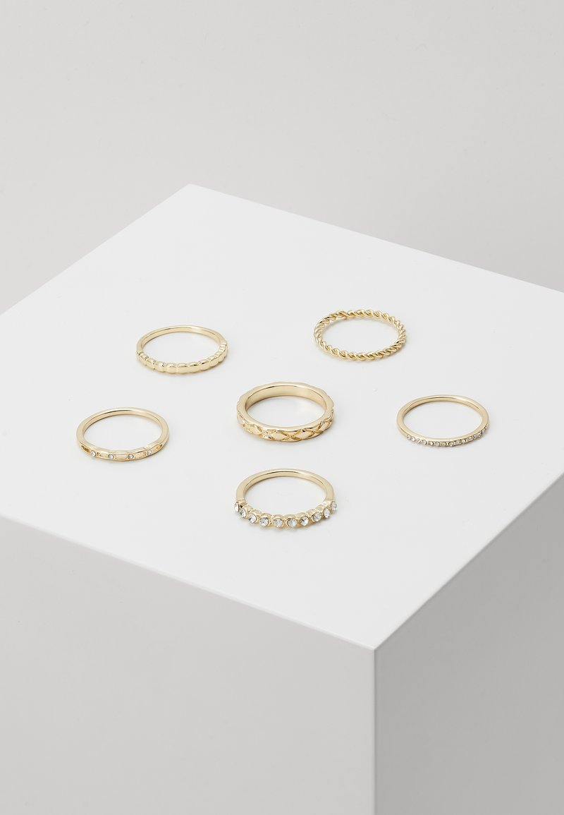 LIARS & LOVERS - 6 PACK - Ringar - gold-coloured