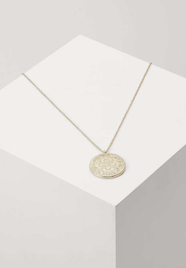 COIN PENDANT - Halsband - gold-coloured