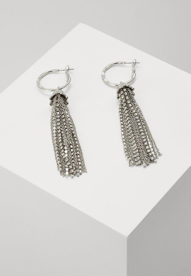 CUPCHAIN DROP - Ohrringe - silver-coloured