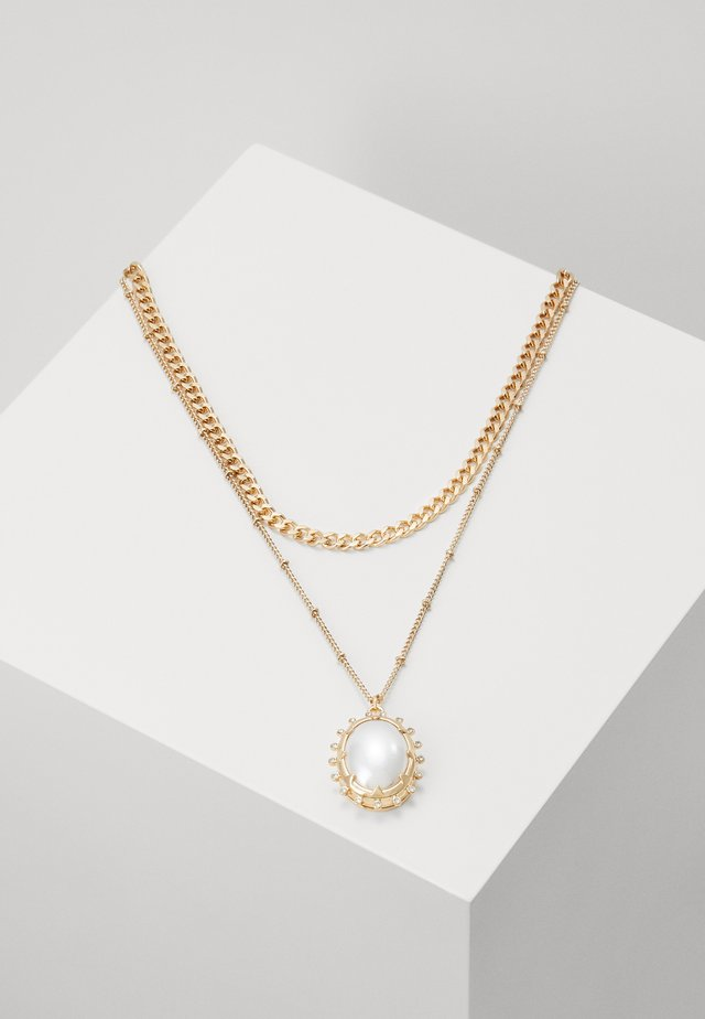 PENDANT MULTIROW - Halskette - gold-coloured