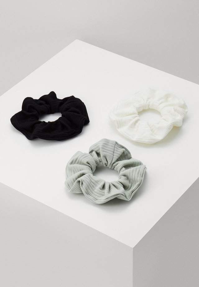 SCRUNCHIE 3 PACK - Håraccessoar - green