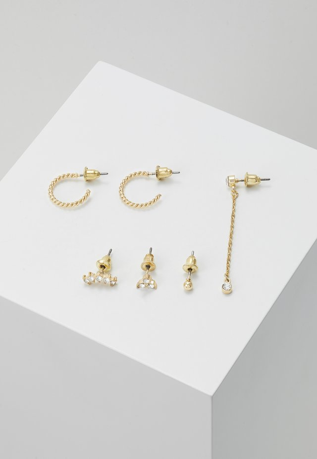 MIXED EAR ADORNMENT 5 PACK - Øreringe - gold-coloured