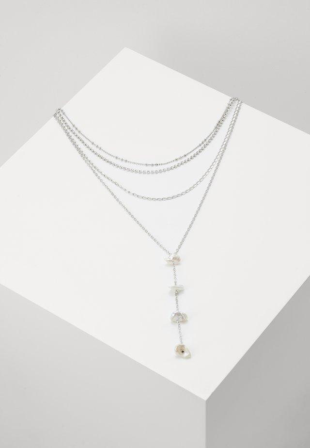 SHELL SHARD CHOKER - Naszyjnik - silver-coloured