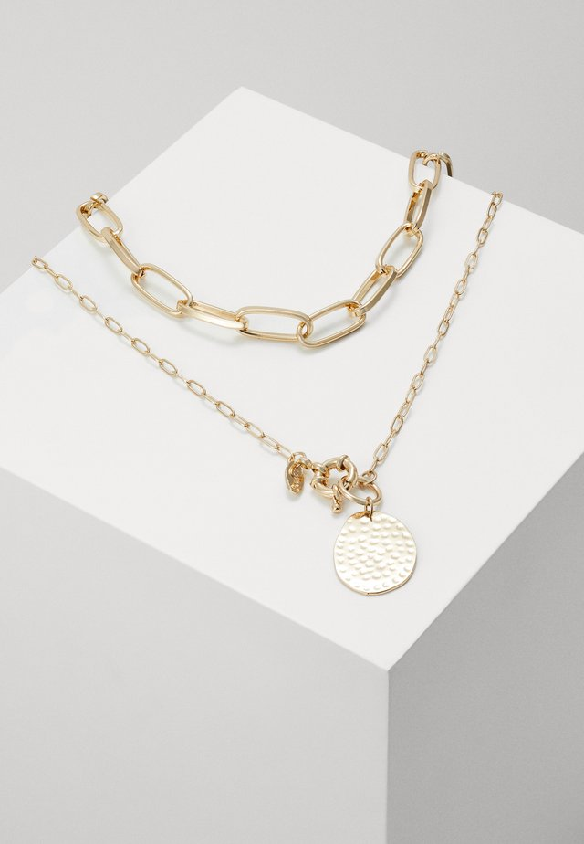 COIN MULTIROW SET - Ketting - gold-coloured