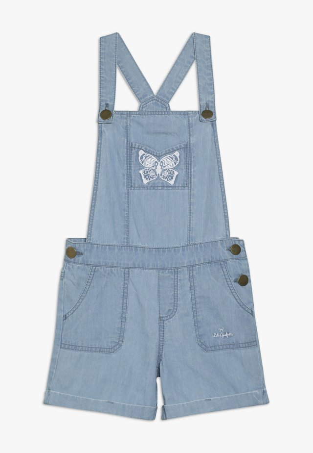 GAGE - Dungarees - light-blue denim