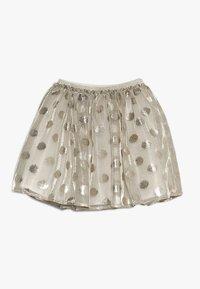 Lili Gaufrette - GRATA - Mini skirt - gilver - 0