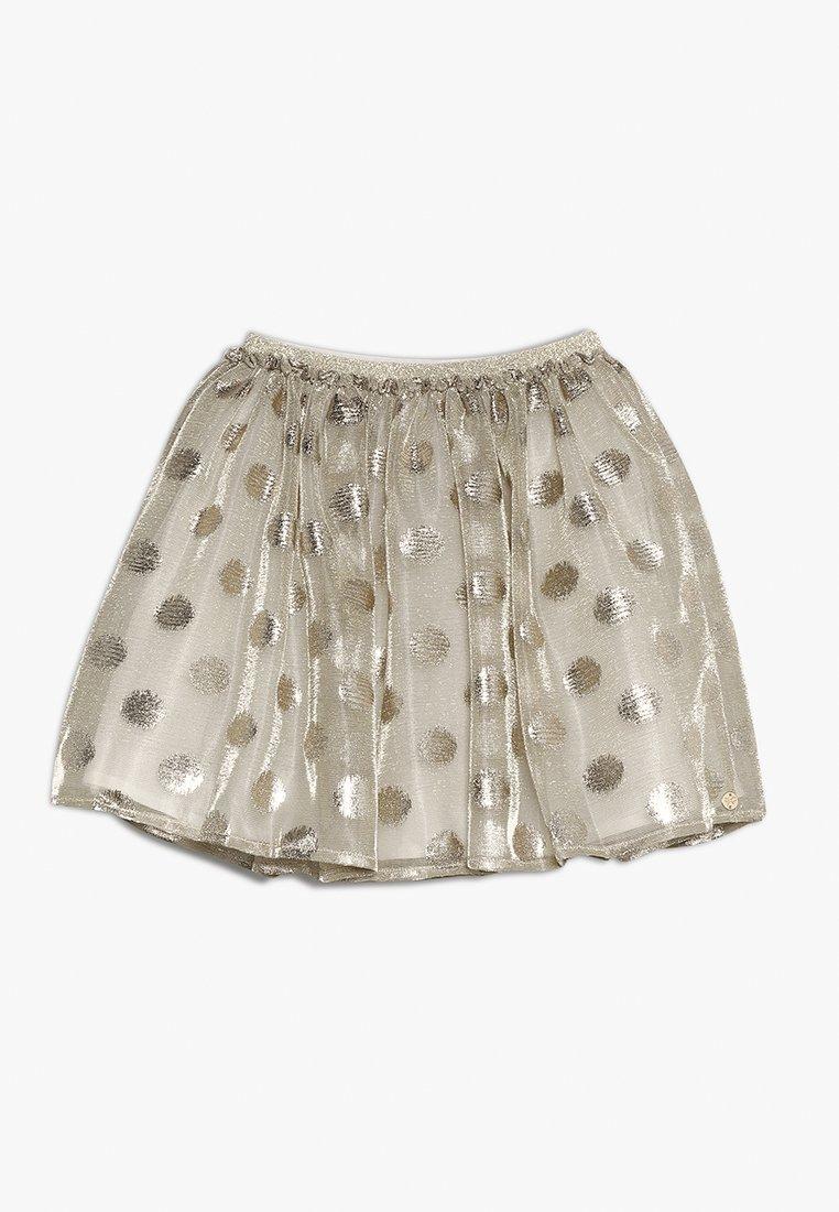 Lili Gaufrette - GRATA - Mini skirt - gilver