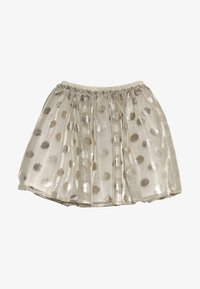 Lili Gaufrette - GRATA - Mini skirt - gilver - 3