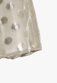 Lili Gaufrette - GRATA - Mini skirt - gilver - 2