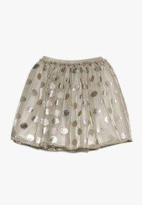 Lili Gaufrette - GRATA - Mini skirt - gilver - 1