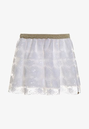 GILYAN - A-snit nederdel/ A-formede nederdele - blanc