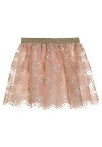 Lili Gaufrette - GILYAN - A-line skirt - rose - 1