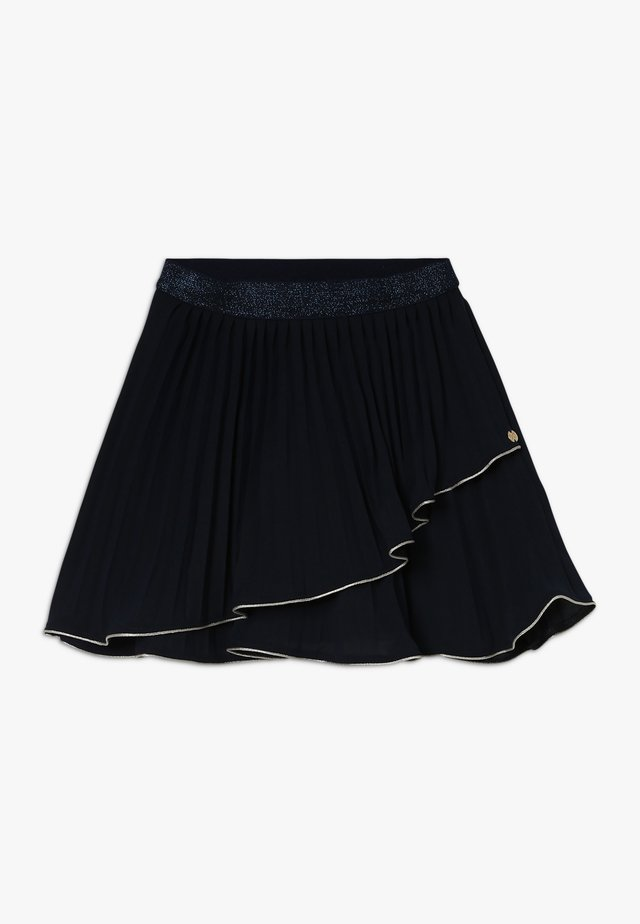 LAPLISSEE - Mini skirt - navy
