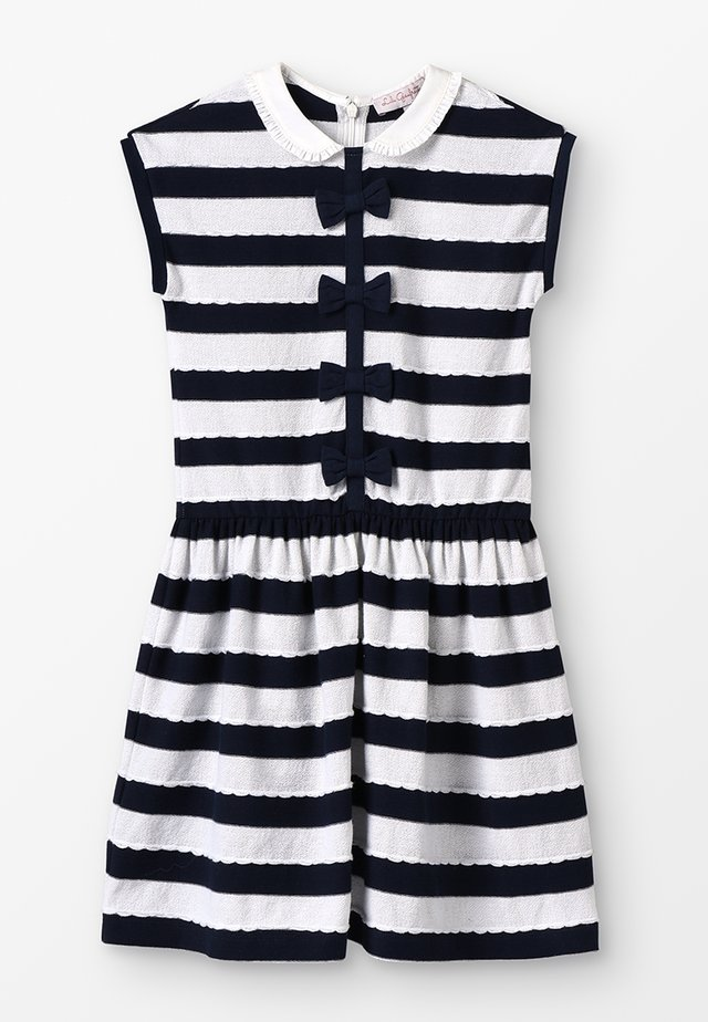 GAYNOR - Žerzejové šaty - navy