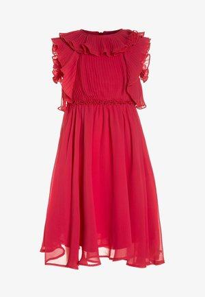 GRACE - Koktejlové šaty/ šaty na párty - framboise