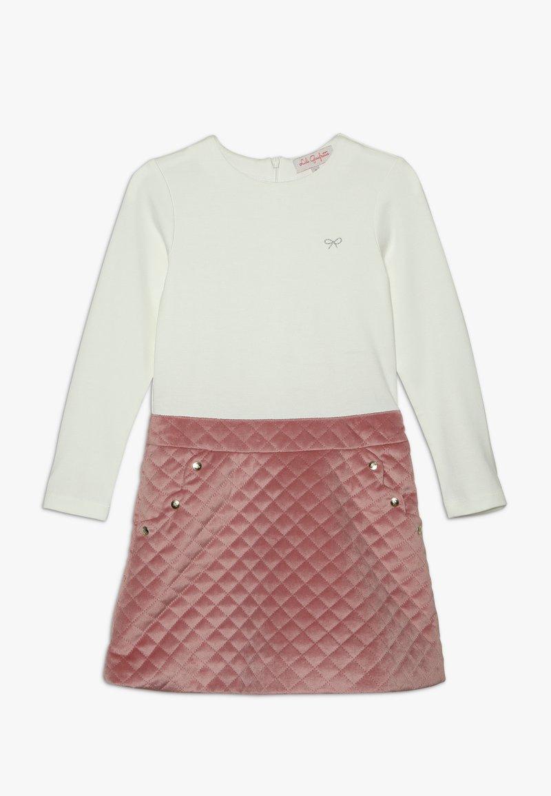 Lili Gaufrette - LINETTE - Jersey dress - vieux rose