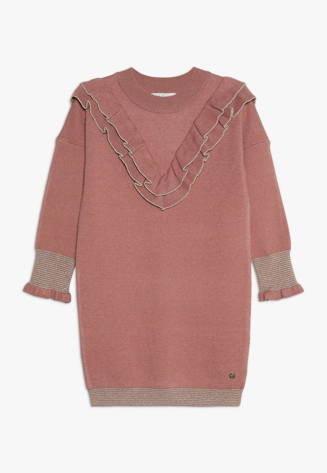 LAPPOLINE - Jumper dress - vieux rose