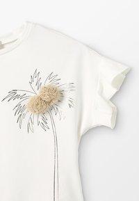 Lili Gaufrette - GARDEN - T-shirts print - nacre - 2