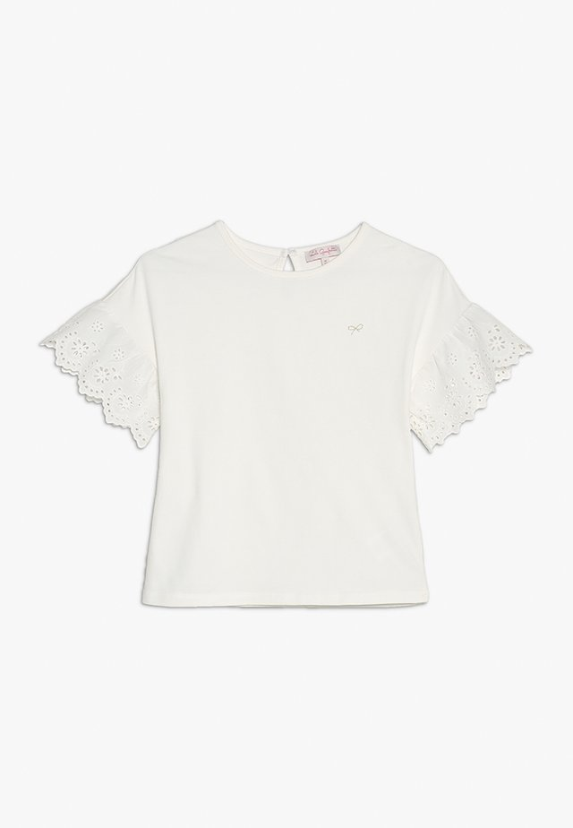 GALERIE - T-Shirt print - nacre