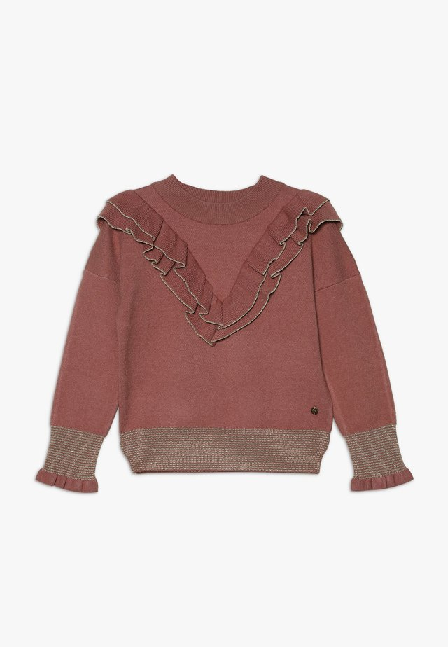 LORRY - Pullover - vieux rose