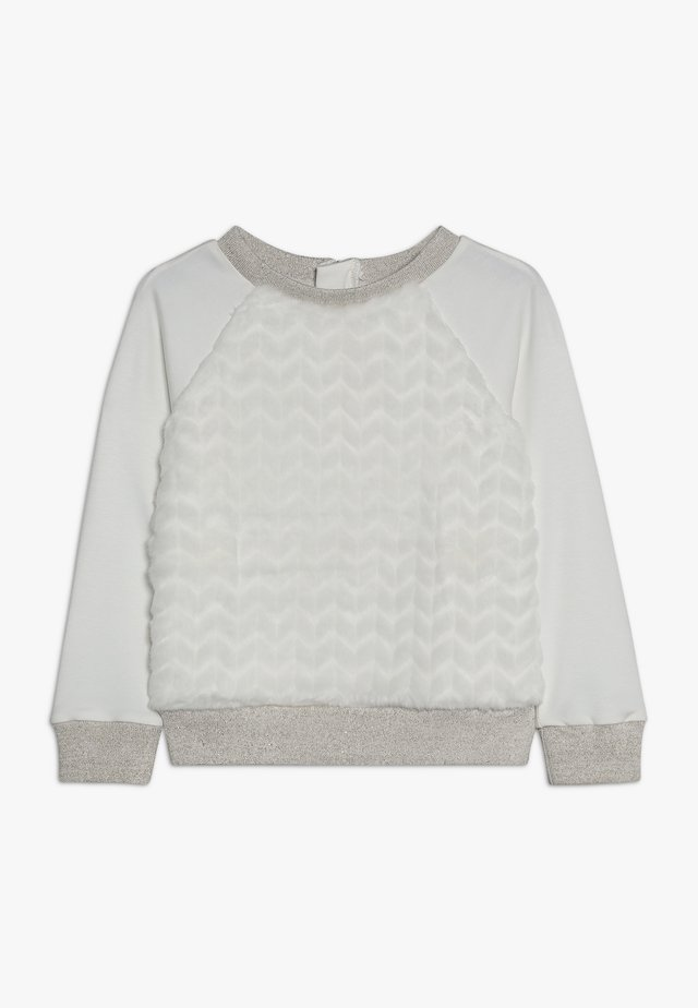 LUSO - Long sleeved top - nacre