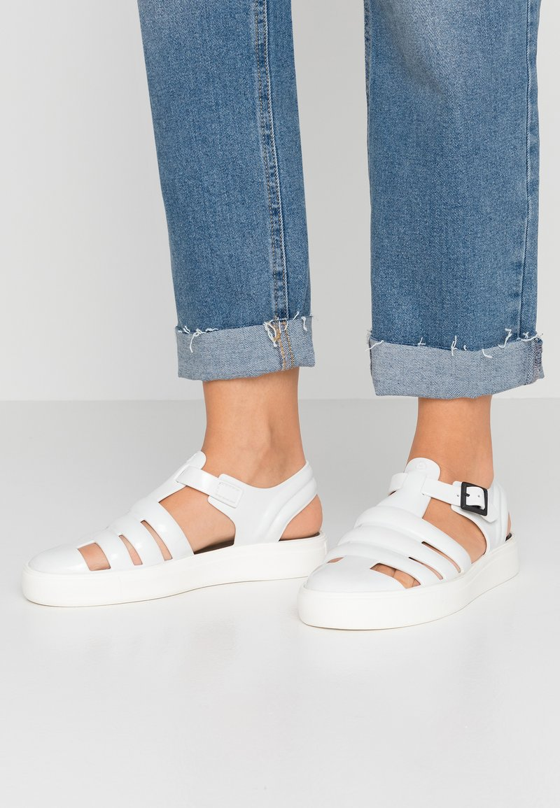 LEMON JELLY - CRYSTAL - Sandals - white