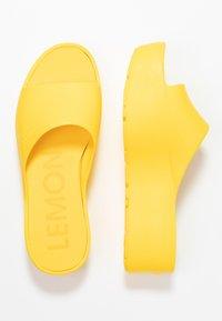 LEMON JELLY - SUNNY - Korolliset pistokkaat - vibrant yellow - 3