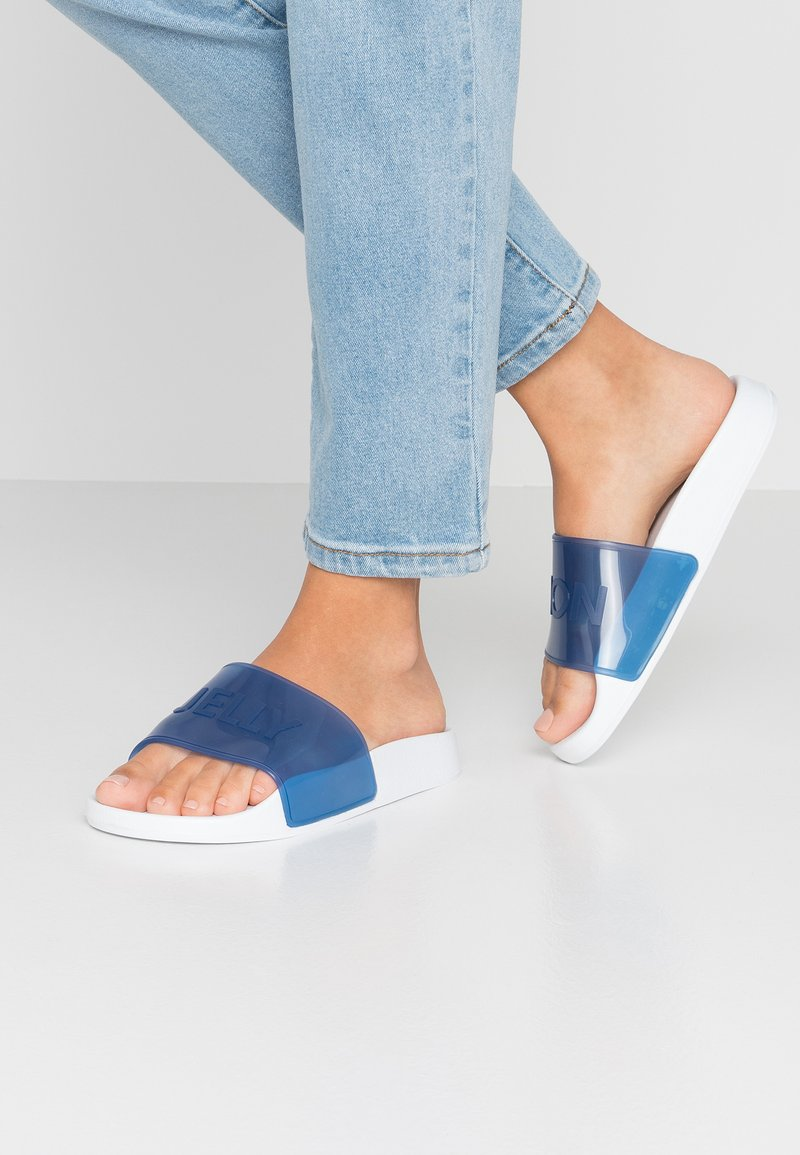 LEMON JELLY - NEON - Badesandaler - blue
