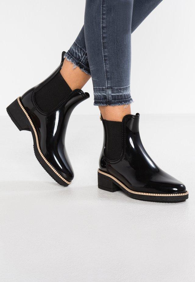 AVA - Gummistøvler - black