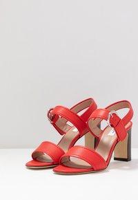 LK Bennett - NATALIE - High heeled sandals - red - 4