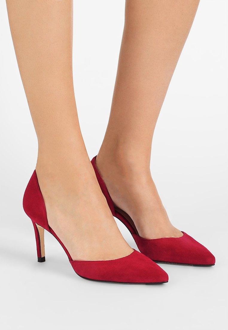 LK Bennett - FLOSSIE  - Classic heels - poppy