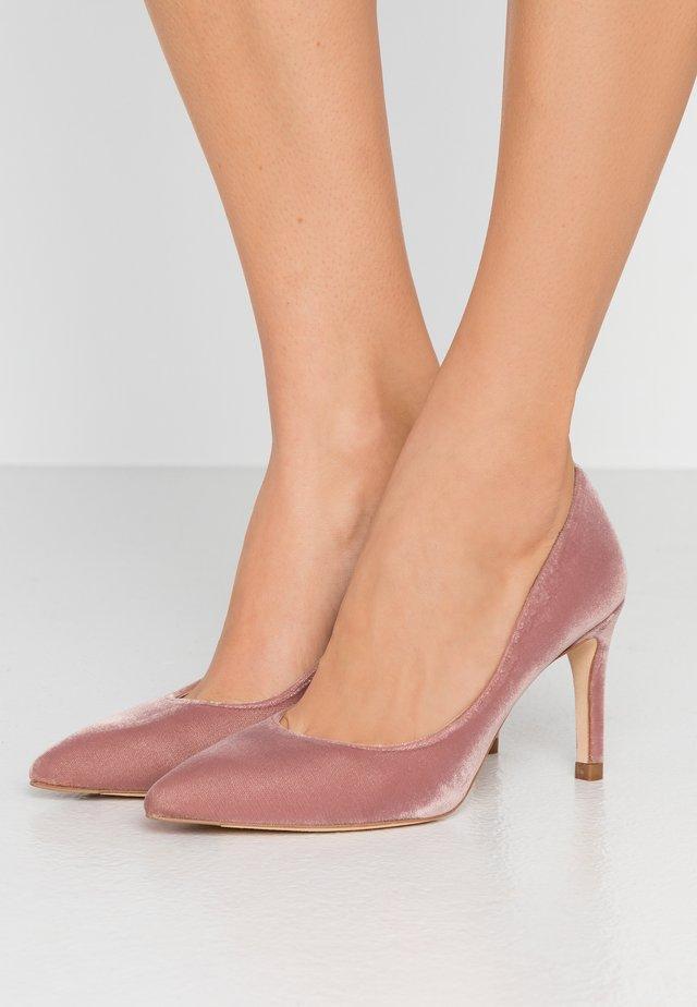 FLORET - High Heel Pumps - blush