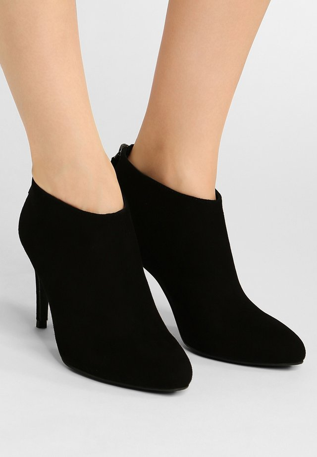 EMILY SUE - High heeled ankle boots - black