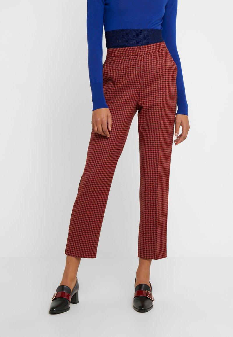 LK Bennett - INGRID - Trousers - orange/pink