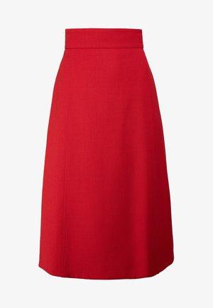 ADRIANA - Spódnica trapezowa - pompeian red
