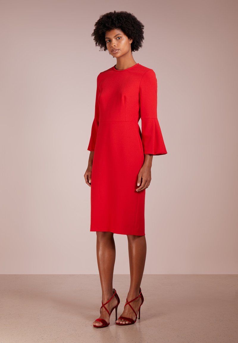 LK Bennett - DORIS - Shift dress - pompeian red