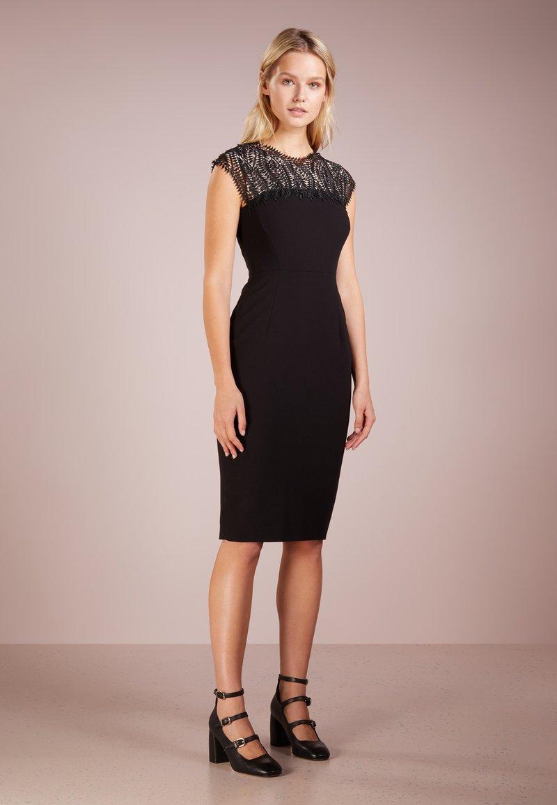 LK Bennett - HENSLEY - Shift dress - black