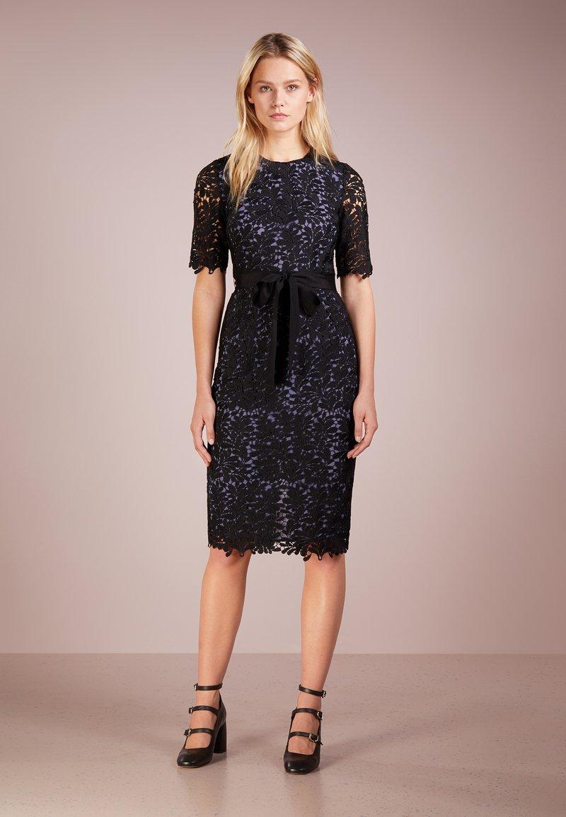 LK Bennett - LEIGH - Cocktail dress / Party dress - black/pale blue