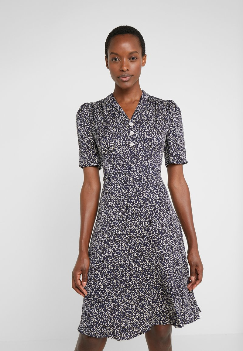 LK Bennett - POESY - Shirt dress - navy