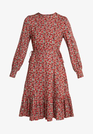 CARINA - Day dress - red multi